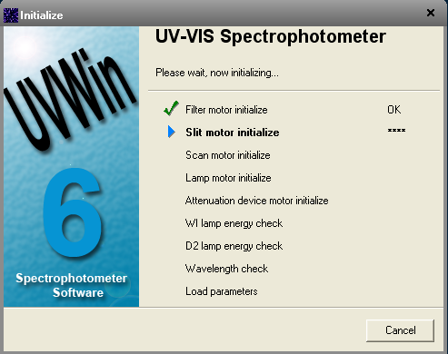 PERSEE ANALYTICS-UV/VIS SPECTROPHOTOMETER-UVWin 6 Software
